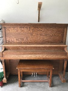 Willis Montreal Upright  Grand Piano