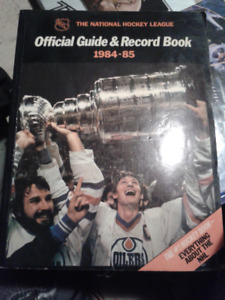 the national hockey league official guide and record book 84-85