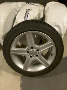 Mercedes Snow Tires and Rims
