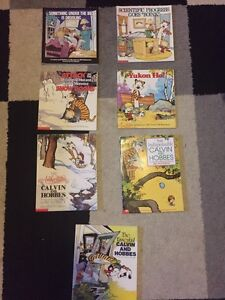 REDUCED! Calvin and Hobbes books for sale
