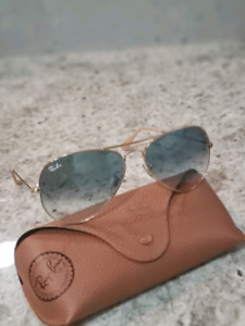 Mens ray ban aviators gradient