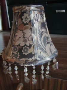 BELL LAMP SHADES SMALL 6 INCH CLIP-ON (6)