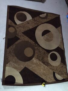 Egyptian ring area rug