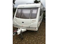 Sterling Eccles 4 berth Caravan mint condition inside and out 2002