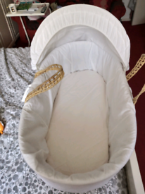 Moses Basket in good clean condition
