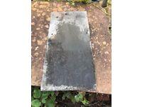 Welsh grey slates