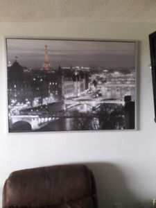 $30 IKEA Paris framed wall picture