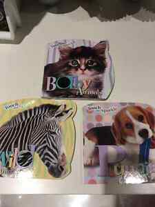 New set of touch and sparkle books