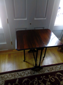 Sutherland Drop Leaf Edwardian Table