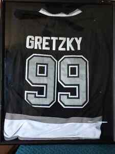 $2250 O.B.O SIGNED Wayne Gretzky and Brad Marchand Jerseys