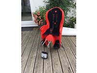 Halfords child bike seat