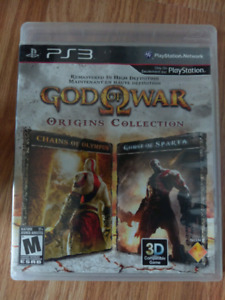 God of War origins collection for ps3