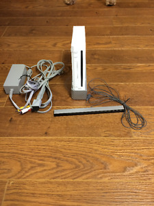 WII Console with games