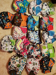 Ecoable Cloth Diapers AIO and Pocket