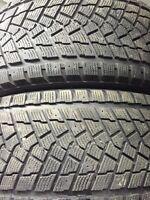 245/50/20 pneus d'hivers 9/32ieme