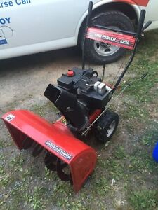 New price! Nice powerful 10hp snowblower!