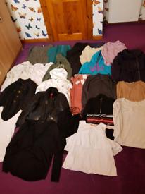 Bundle of ladies clothes size L