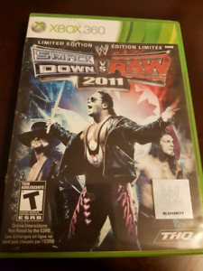 WWE Smack Down vs Raw 2011 XBOX 360