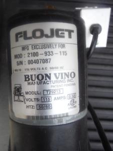 Buon Vino Super jet wine filter Beer Cider Juice