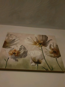 Wall Painting with flowers