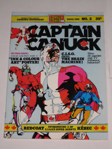 Captain Canuck#'s 2,4,5,6,7,8,9,10+ 1st series group! comic book
