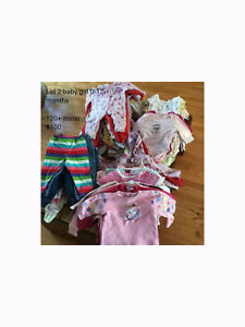 Baby girl and boy clothes 0-12 months, EUC, pet/smoke free home