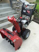 Craftsman 14.5 two stage snowblower