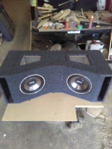 Subs and box