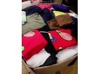 box of 100 t-shirts in very good condition