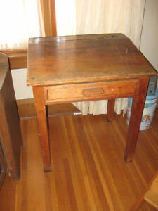 Turn of the century drawing/writing desk. Belleville Belleville Area image 1