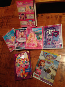 My Little Pony Equestria Girls and other DVDs --6 for $15!