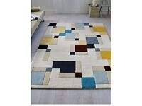 RUG NEW WOOL LARGE ULTRA MODERN GREATLY REDUCED