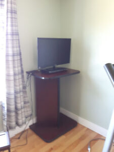 free TV stand for in front of treadmill