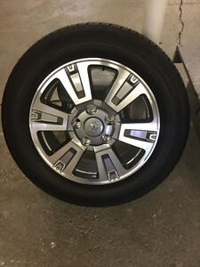 4-Brand new 275/55-R20 tires / Rims