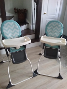 Baby high chair ,almost new!