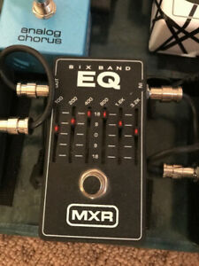 MXR 6 Band EQ  - Great for Boosting Mids.