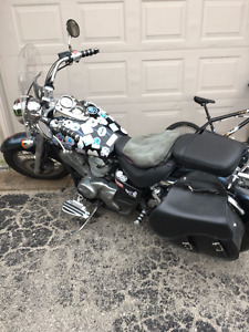 KICK ASS 2001 Honda Shadow
