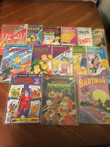 Simpsons Comics! 14 Issues 1995-1996 Mint Condition