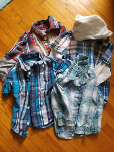 Excellent condition 12-18 month shirts
