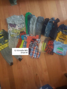 12-18 mnths clothing lot
