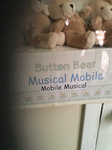 Button Bear Musical Mobile-New