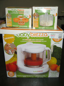 Baby brezza one step food maker set