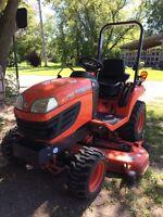 Kubota Bx2360  garden tractor