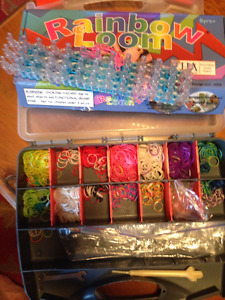 Rainbow Loom and carrying case