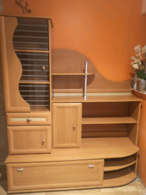Whole Furniture Set with Wardrobe, Drawers and Shelves