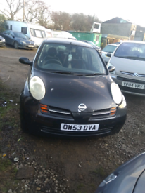 Nissan Micra breaking for parts