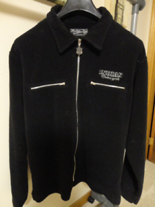 Size M/L Casual Mens Indian Motorcycle Corded Cotton Jacket