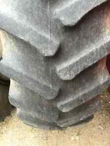 Firestone radial 20.8 x 42 tractor tires