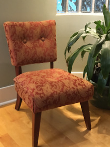 Vintage Occasional Chair $130,