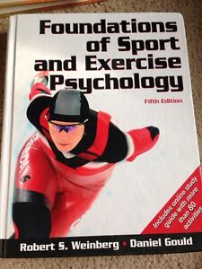 UWO - KIN - Foundations of sport and exercise psychology